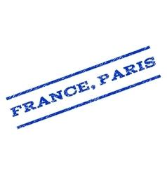France Paris Watermark Stamp vector