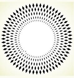 Geometric circle element - circular pattern vector