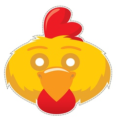 Mask cock vector