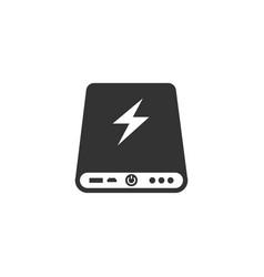 Power bank icon vector
