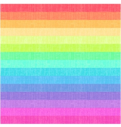 Seamless rainbow stripes textured pattern vector