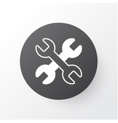 wrench icon symbol premium quality isolated vector image vector image