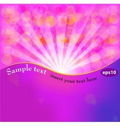 Fantasy background vector image