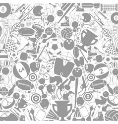 Sports a background vector image vector image
