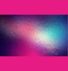 abstract polygon colorful background of modern vector image