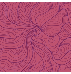 Abstract wavy seamless pattern in elegant purple vector image