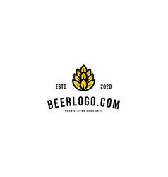 brewing emblem logo premium vector image