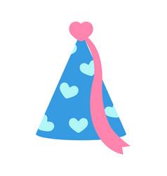 Princess party celebration cap vector