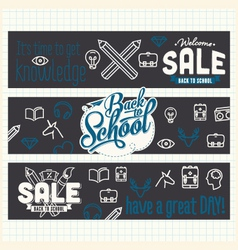 Retail and shopping banners vector