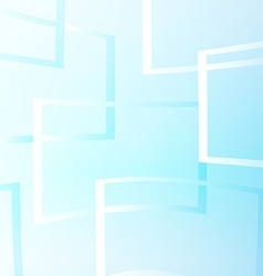Flying windows on the blue sky vector image vector image
