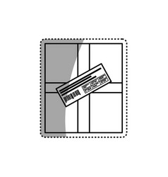 Mail delivery service vector