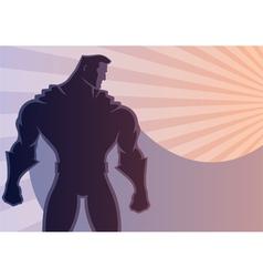 Superhero Background 2 vector image vector image