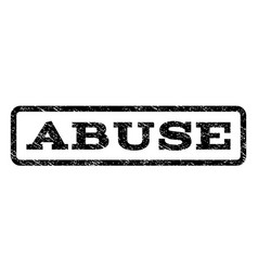 Abuse watermark stamp vector