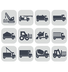 Construction machinery format vector image
