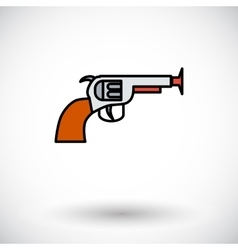 Gun toy vector