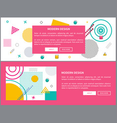 modern design abstraction on vector image