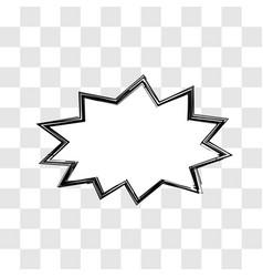 Scribble dialogue box simple concept vector