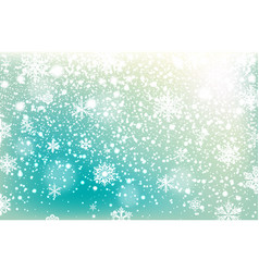 Winter falling snow background design element vector