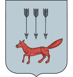 Saransk Coat-of-Arms vector image vector image