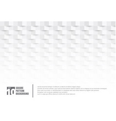 Abstract 3d white paper art style texture vector