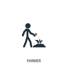 Colorado beetle poison icon simple gardening vector