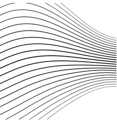distorted wave monochrome texture vector image