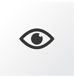 eye icon symbol premium quality isolated view vector image