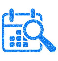 Find date grunge icon vector