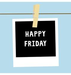 Happy Friday3 vector image