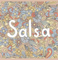 Salsa zen tangle vector