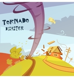 Tornado Disaster vector image