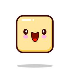 emoticon icon emoji isolated on white background vector image vector image