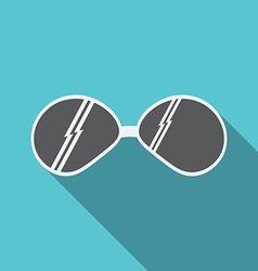 sunglasses icon v vector image