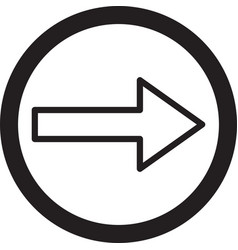 Arrow right arrow icon right icon arrow right vector