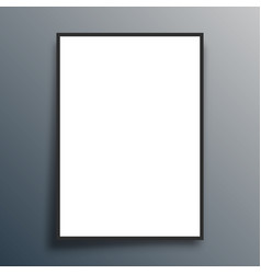 blank background template for banner flyer vector image