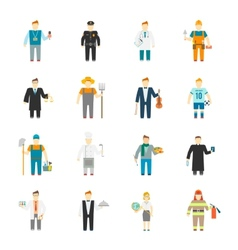 Character Icon Flat vector image