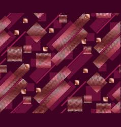 Geometry modern style seamless pattern vector