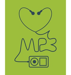 MP3 vector