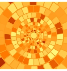 Orange mosaic background vector