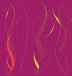 pinstriping vector image