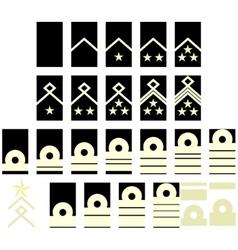 Navy insignia Estonia vector image vector image