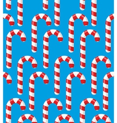 Red striped candy holiday Christmas and new years vector image