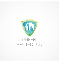 Green Protection vector image