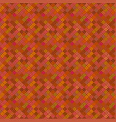 Seamless brown abstract diagonal square pattern vector