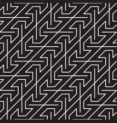 seamless dark pattern geometric stripes ornament vector image