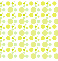 seamless pattern background in polka dot vector image