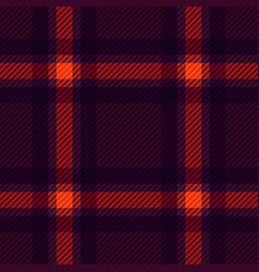 Tartan fabric texture vector