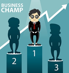Business Champ vector image