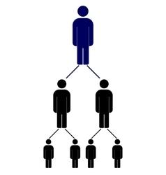 People social network vector