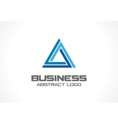 Abstract logo for business company Industry vector image vector image